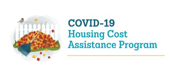 Community Housing Assistant COVID graphic