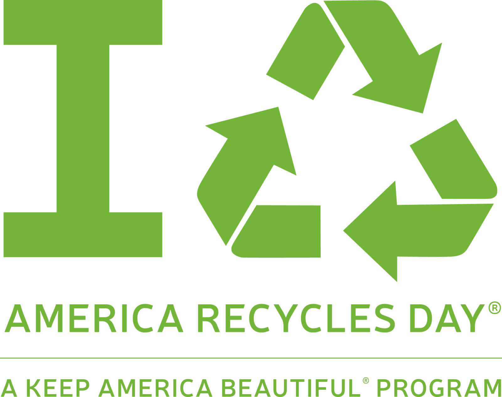Keep America Beautiful's America Recycles Day Logo
